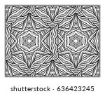 vector abstract pattern page... | Shutterstock .eps vector #636423245