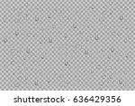 vector set of realistic... | Shutterstock .eps vector #636429356
