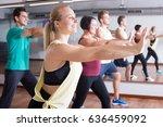 smiling beginner people... | Shutterstock . vector #636459092