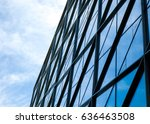 modern architecture tone in... | Shutterstock . vector #636463508