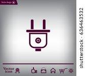power energy symbol | Shutterstock .eps vector #636463532