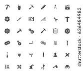 industrial icons | Shutterstock .eps vector #636484982