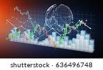 digital 3d rendered stock... | Shutterstock . vector #636496748