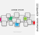 modern graphic design elements. ... | Shutterstock .eps vector #636498122