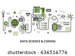 modern flat editable line... | Shutterstock .eps vector #636516776