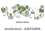 modern editable line design... | Shutterstock .eps vector #636516806