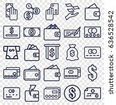 pay icons set. set of 25 pay...   Shutterstock .eps vector #636528542