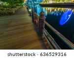 night view of yokohama | Shutterstock . vector #636529316