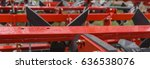agricultural machinery. the... | Shutterstock . vector #636538076