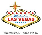 banner of las vegas with black