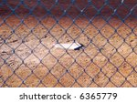 The Home Plate Of A Baseball...