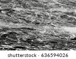 black and grey marble texture... | Shutterstock . vector #636594026