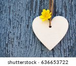 Decorative Wooden Heart With...
