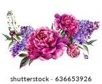 Watercolor Floral Decoration...