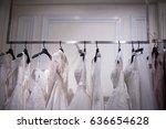 wedding boutique  | Shutterstock . vector #636654628