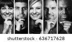 beautiful group of people | Shutterstock . vector #636717628