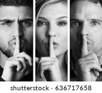 beautiful group of people | Shutterstock . vector #636717658