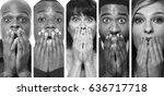 beautiful group of people | Shutterstock . vector #636717718