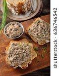 healthy wholegrain bread... | Shutterstock . vector #636746542