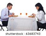 two business people having... | Shutterstock . vector #63683743