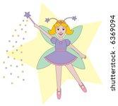 vector fairy child sprinkles...   Shutterstock .eps vector #6369094