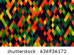 dark multicolor  rainbow vector ... | Shutterstock .eps vector #636936172
