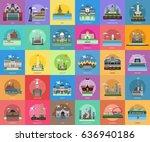 City of Indonesia Conceptual Design | Shutterstock vector #636940186