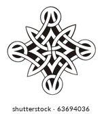 celtic vector ornament | Shutterstock .eps vector #63694036