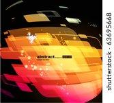 abstract background vector | Shutterstock .eps vector #63695668