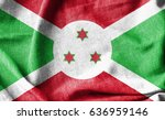 burundi cotton flag | Shutterstock . vector #636959146