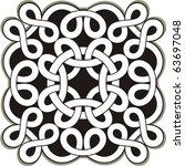 celtic vector ornament | Shutterstock .eps vector #63697048