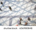 people walking. background with ... | Shutterstock . vector #636980848