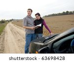 couple chooses the road | Shutterstock . vector #63698428
