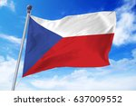 Flag Of Czech Republic...