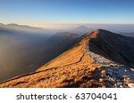 Footpath In High West Tatras  ...
