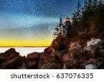 Dusk At Bass Harbor Head Light...