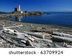 fisgard lighthouse in victoria  ... | Shutterstock . vector #63709924