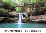 Panoramic View Beautiful Upper Falls - Fine Art prints
