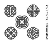 Vector Celtic Knot. Ethnic...