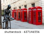 Traditional Red Telephone Boxe...