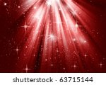 christmas background red | Shutterstock . vector #63715144