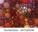 color dots abstract background | Shutterstock . vector #637160236