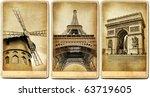 Paris   Vintage Cards Series