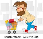 vector illustration of a... | Shutterstock .eps vector #637245385
