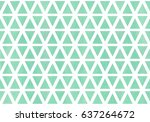 watercolor seafoam blue...   Shutterstock . vector #637264672