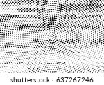 abstract black and white... | Shutterstock .eps vector #637267246
