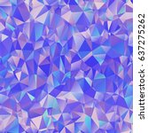 square shape low poly banner... | Shutterstock .eps vector #637275262