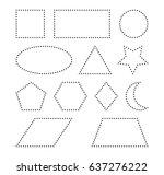 Geometric Shapes Square  Circl...