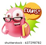 3d illustration character... | Shutterstock . vector #637298782
