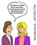 business cartoon about... | Shutterstock . vector #637351756